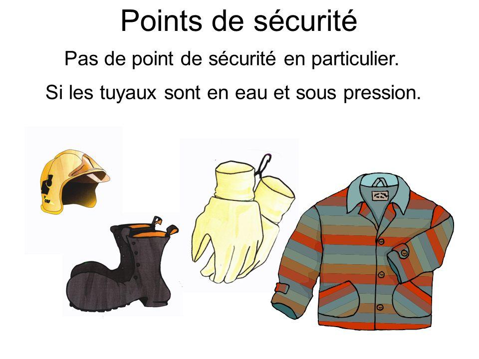 Le ceinturon nest pas obligatoire sauf selon les cas. Points de sécurité (bis)