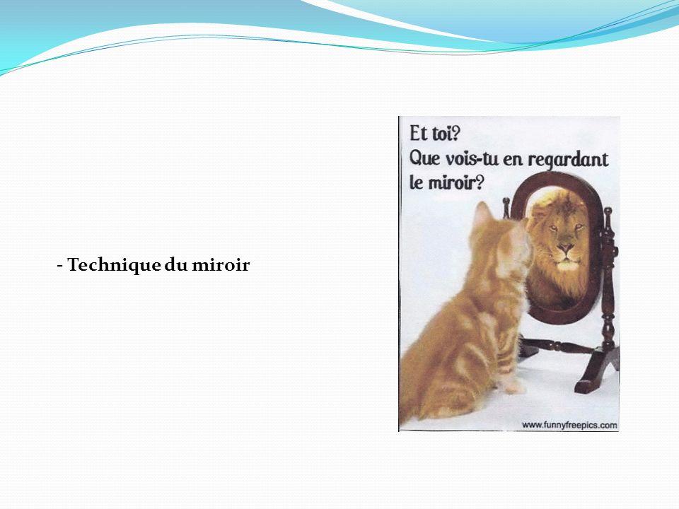 - Technique du miroir