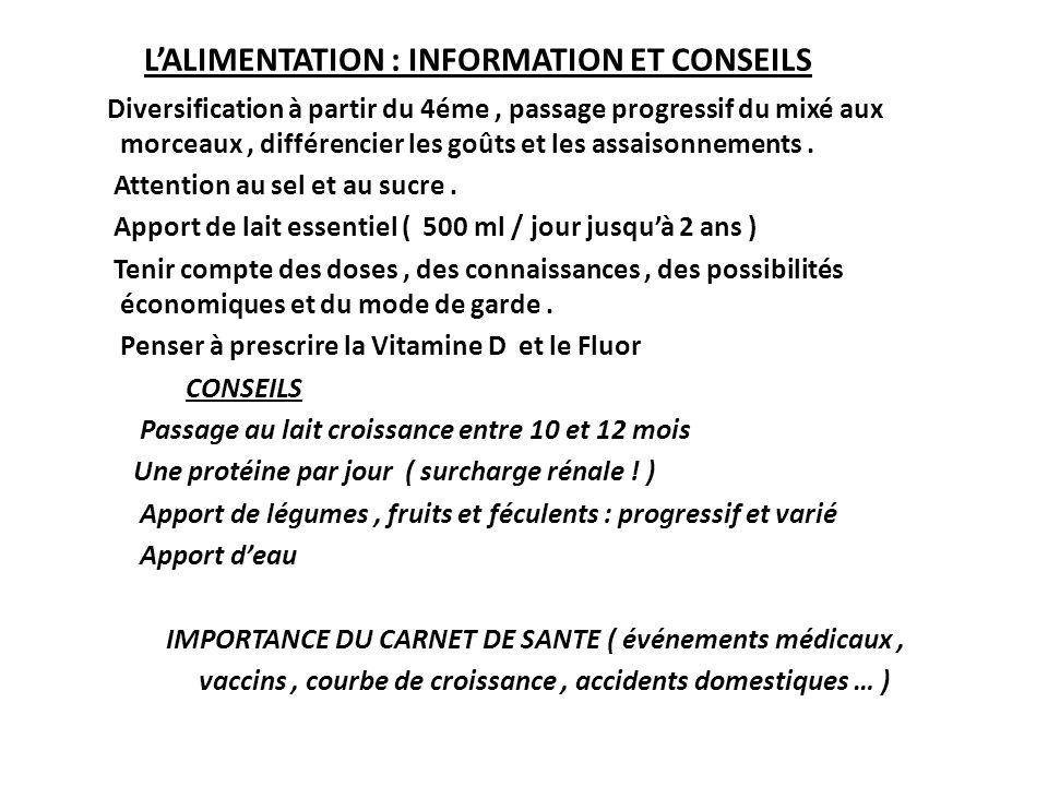 LES VACCINATIONS BEH calendrier vaccinal 22.04.2008.