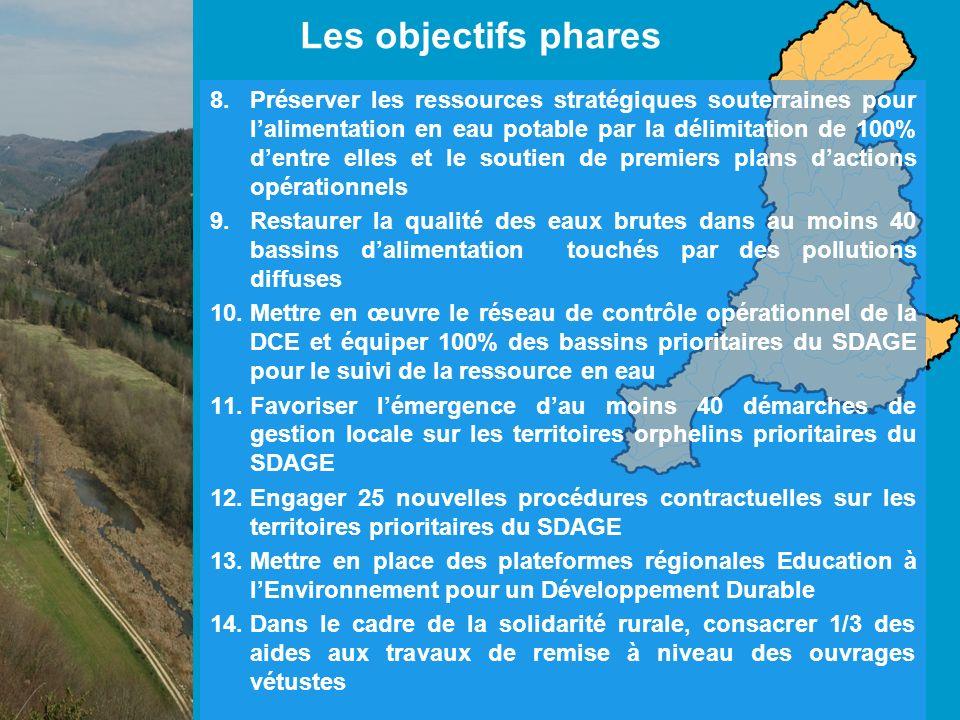 Les enjeux : -Réservoirs exceptionnels de biodiversité, -Rôle essentiel dans la régulation des cours deau, -Les ZH du bassin Rhône-méditerranée sont menacées (urbanisation, endiguement des rivières, activités agricoles), RESTAURER ET PRESERVER LES ZONES HUMIDES