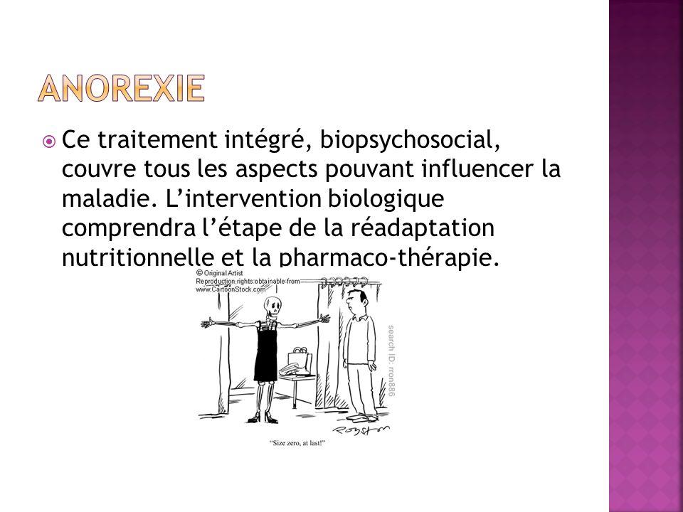 Ce traitement intégré, biopsychosocial, couvre tous les aspects pouvant influencer la maladie.
