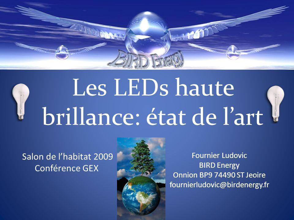 Les LEDs : Intégration dans lhabitat…