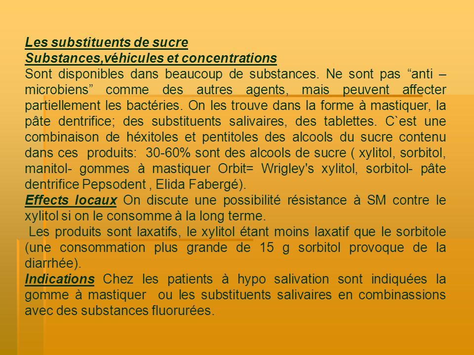 Substances,véhicules et concentrations Sont disponibles dans beaucoup de substances. Ne sont pas anti – microbiens comme des autres agents, mais peuve