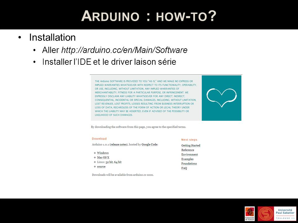 A RDUINO : HOW - TO .