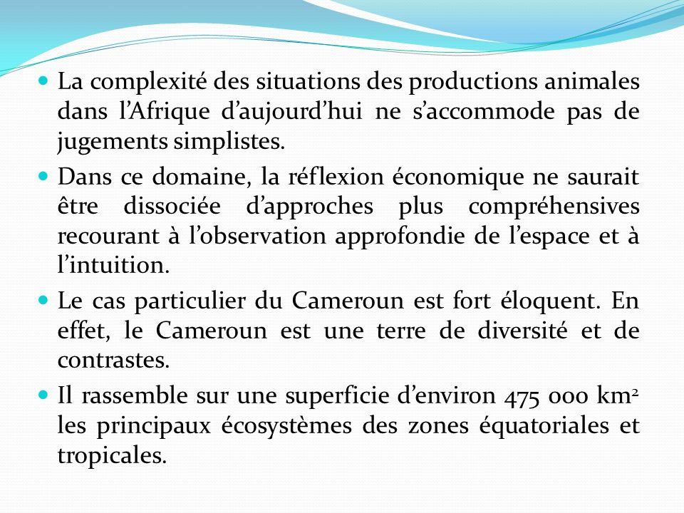 La complexité des situations des productions animales dans lAfrique daujourdhui ne saccommode pas de jugements simplistes.