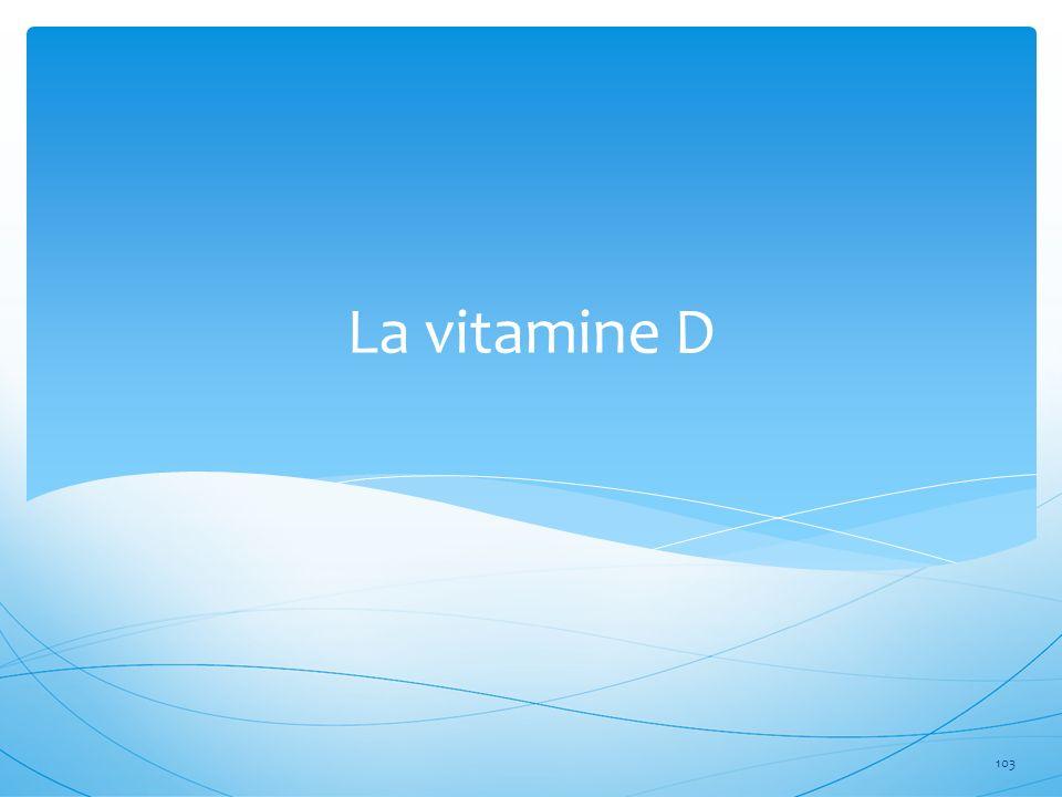 La vitamine D 103