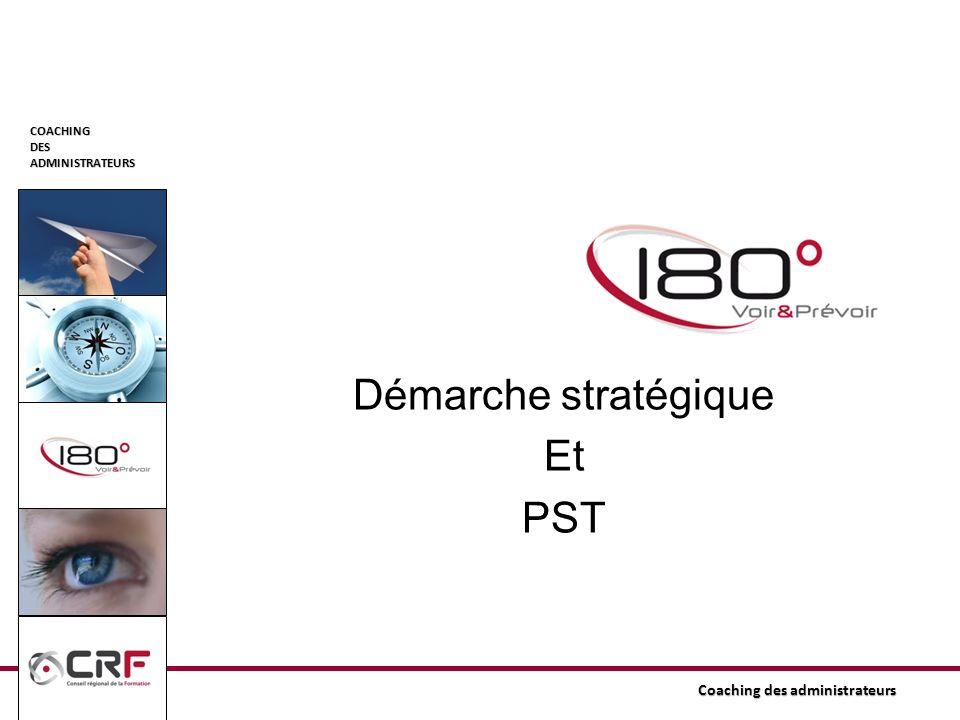 COACHINGDESADMINISTRATEURS Coaching des administrateurs Démarche stratégique Et PST