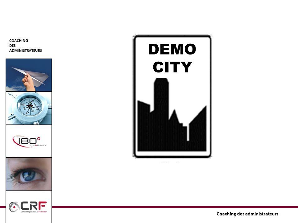 COACHINGDESADMINISTRATEURS DEMO CITY