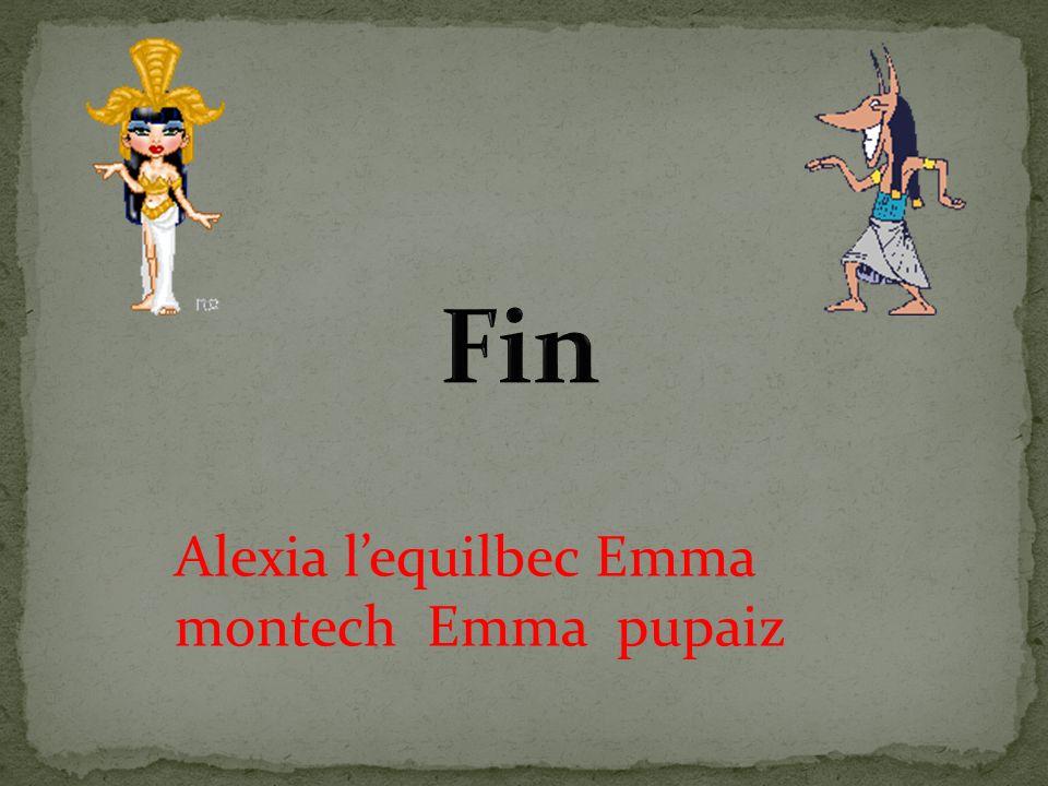 Alexia lequilbec Emma montech Emma pupaiz