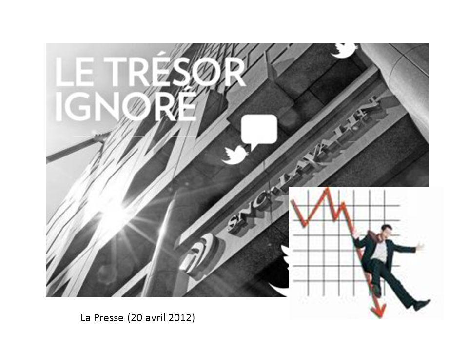 La Presse (20 avril 2012)