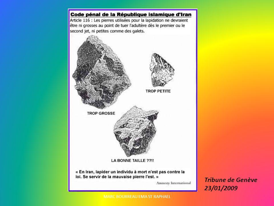 Tribune de Genève 23/01/2009