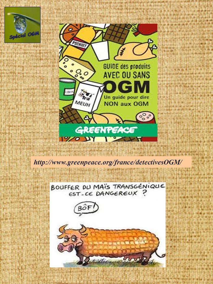Dans quels produits alimentaires peut-on trouver des OGM ou leurs dérivés .