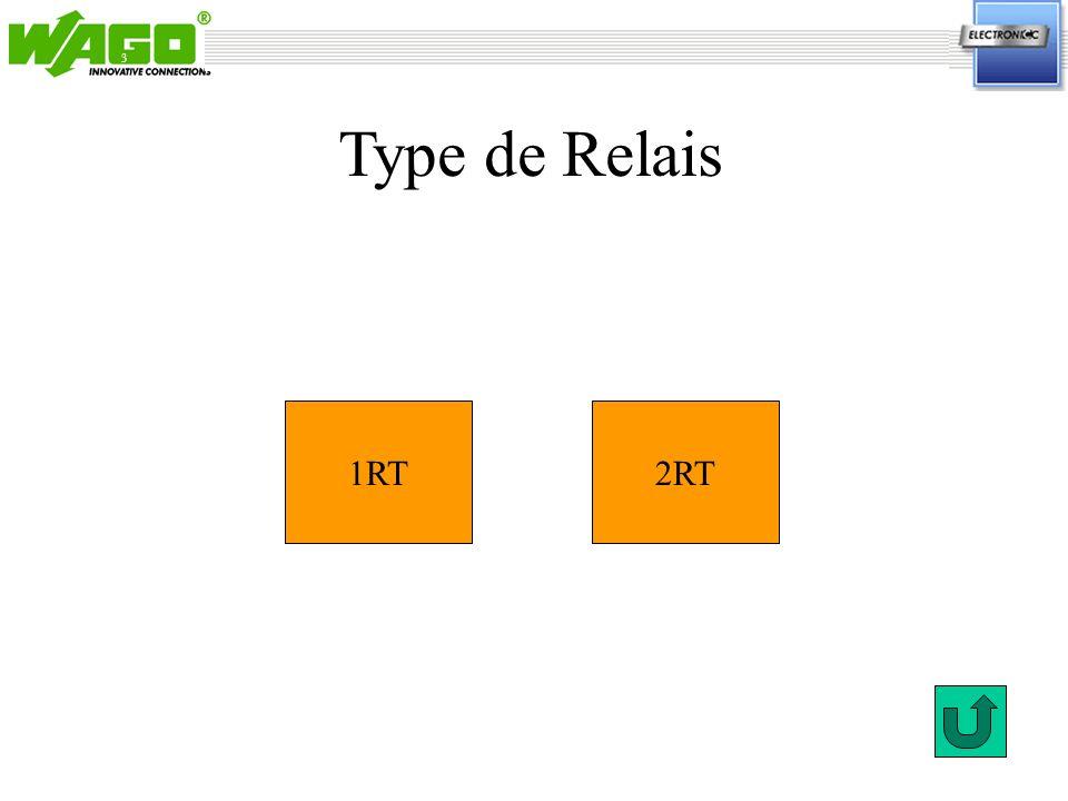 3 1RT2RT Type de Relais
