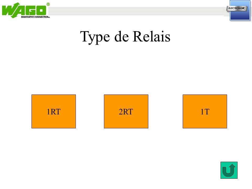 1 1RT1T2RT Type de Relais