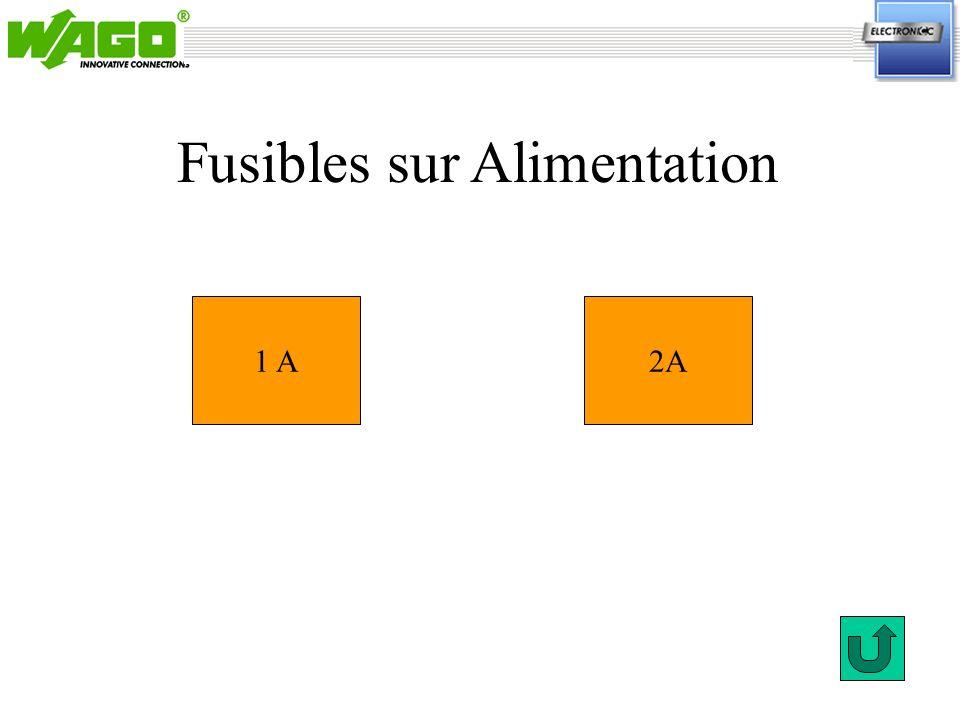1.1.1 1 A2A Fusibles sur Alimentation