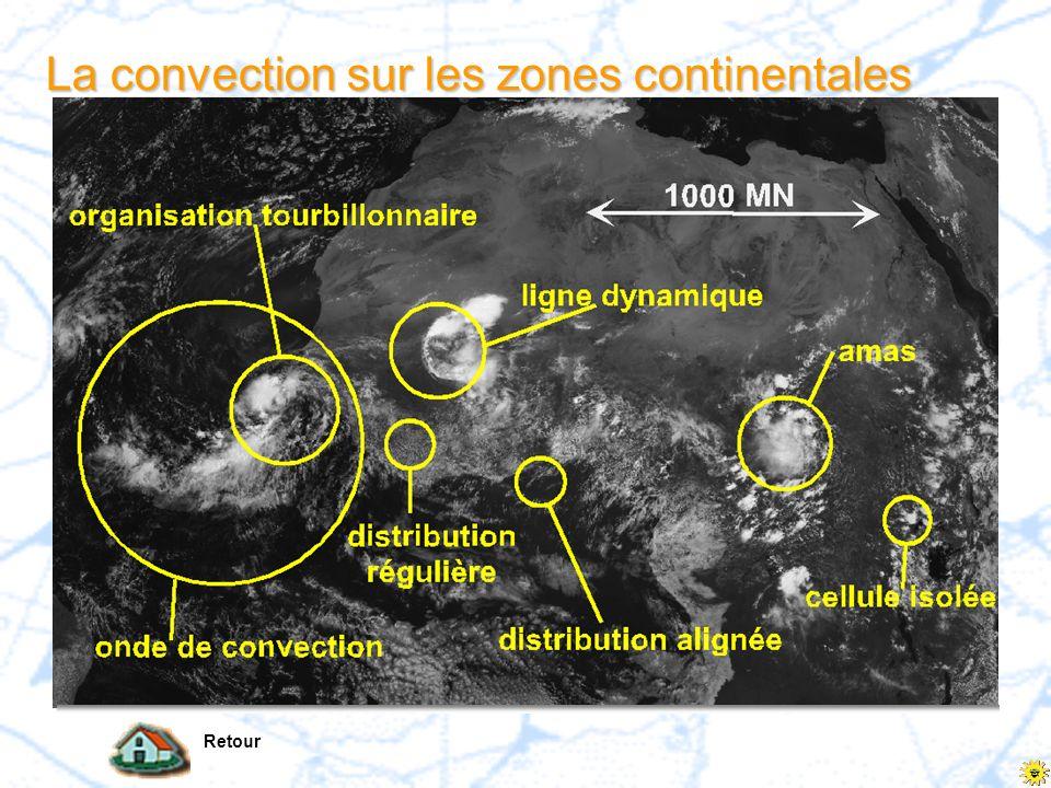 La convection sur lAfrique Retour Cliquez sur limage