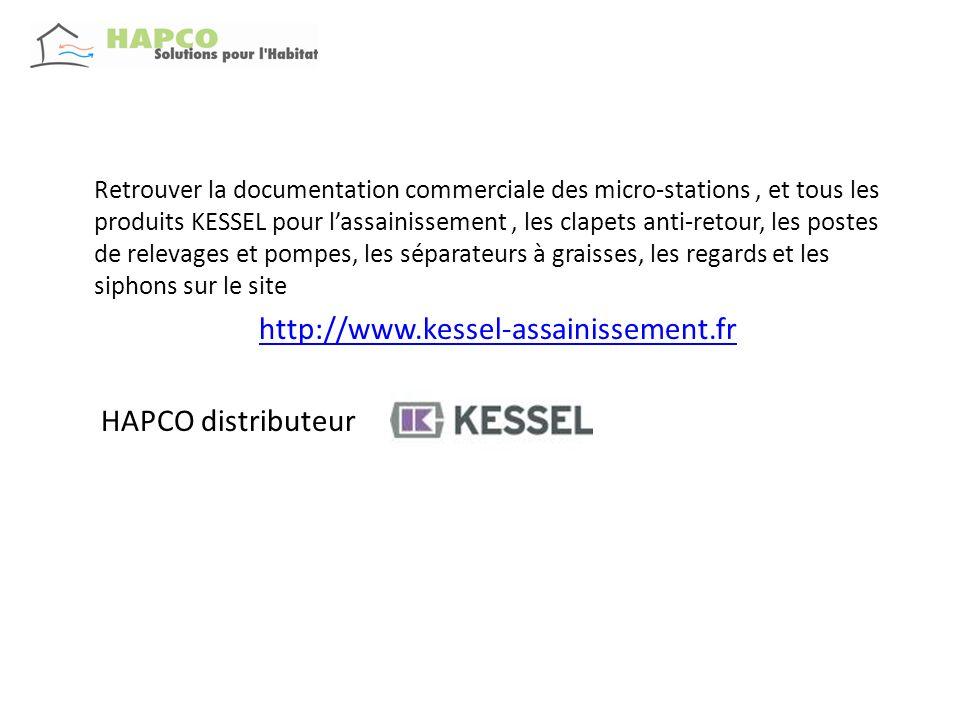 Retrouver la documentation commerciale des micro-stations, et tous les produits KESSEL pour lassainissement, les clapets anti-retour, les postes de re