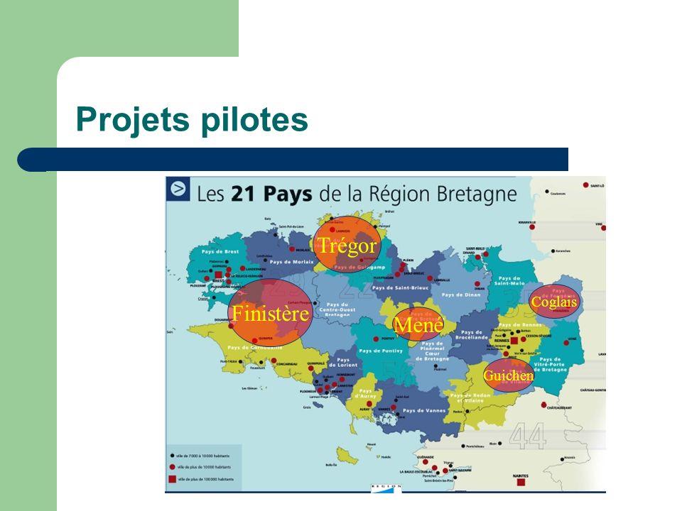 Projets pilotes Trégor Mené Finistère Guichen Coglais