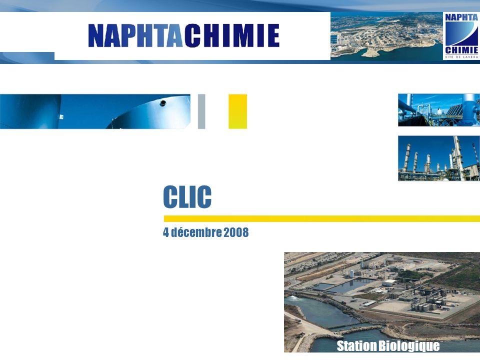 Conférence de presse du 20 septembre 2006 4 décembre 2008 CLIC Station Biologique