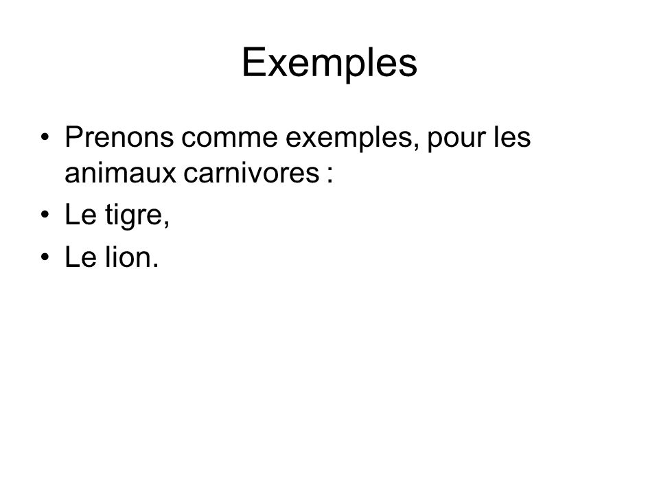 Le lion Le lion est un mammifère carnivore de la famille des félins.