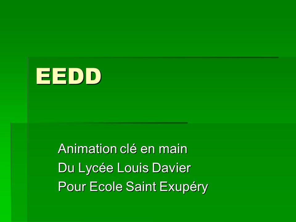 EEDD Animation clé en main Du Lycée Louis Davier Pour Ecole Saint Exupéry