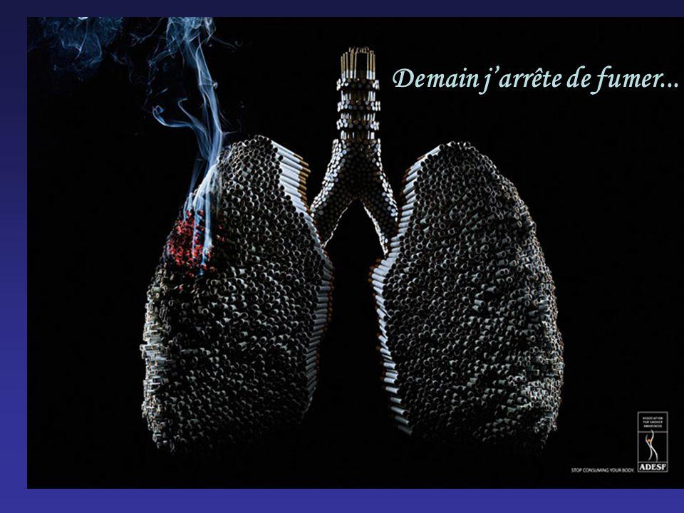 Demain jarrête de fumer...