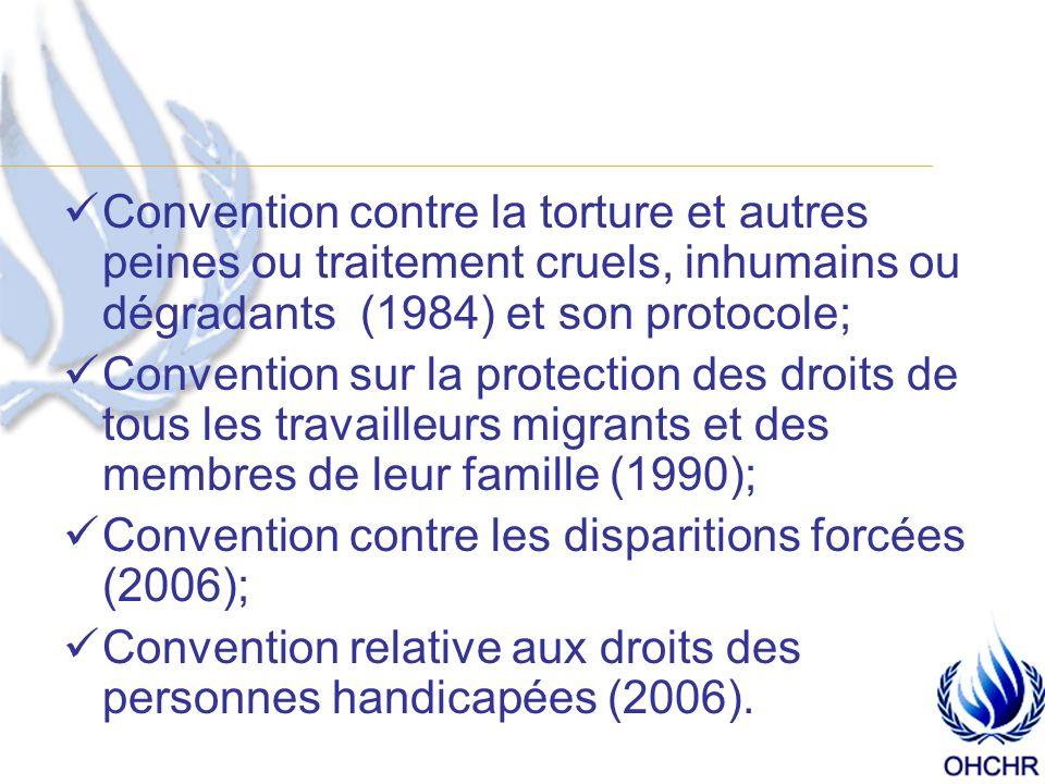Systèmes internationaux: Le Conseil des droits de lhomme Que fait-il .