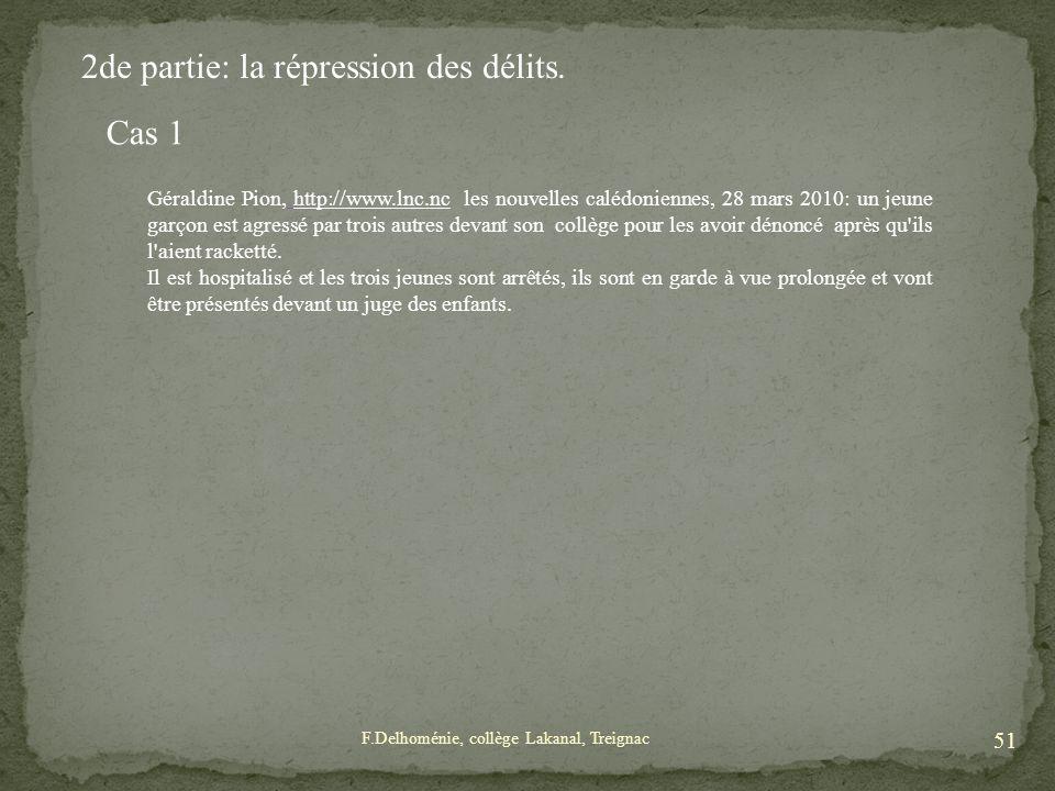 Géraldine Pion, http://www.lnc.nc les nouvelles calédoniennes, 28 mars 2010: un jeune garçon est agressé par trois autres devant son collège pour les