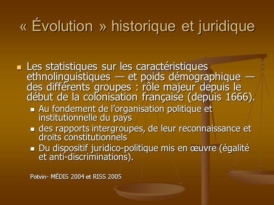 « Évolution » historique et juridique Lapproche systémique : influence des concepts, approches et méthodes de démonstration des sciences sociales dans linterprétation juridique de la discrimination et de légalité.