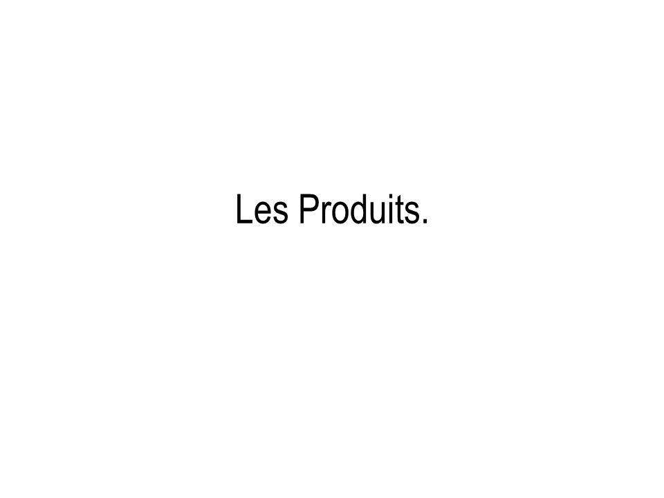 Les Produits.
