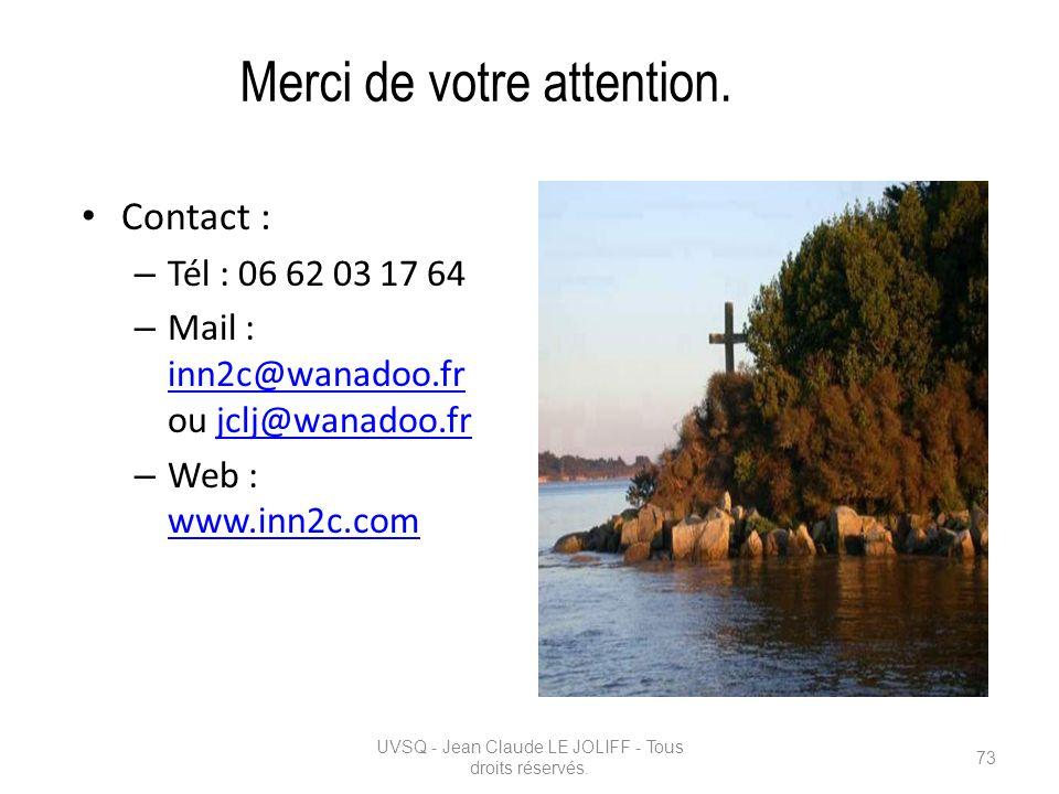 Merci de votre attention. Contact : – Tél : 06 62 03 17 64 – Mail : inn2c@wanadoo.fr ou jclj@wanadoo.fr inn2c@wanadoo.frjclj@wanadoo.fr – Web : www.in