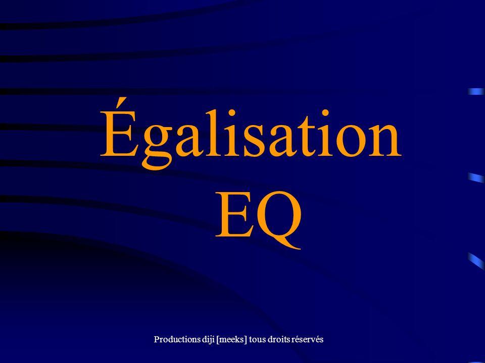 Égalisation EQ