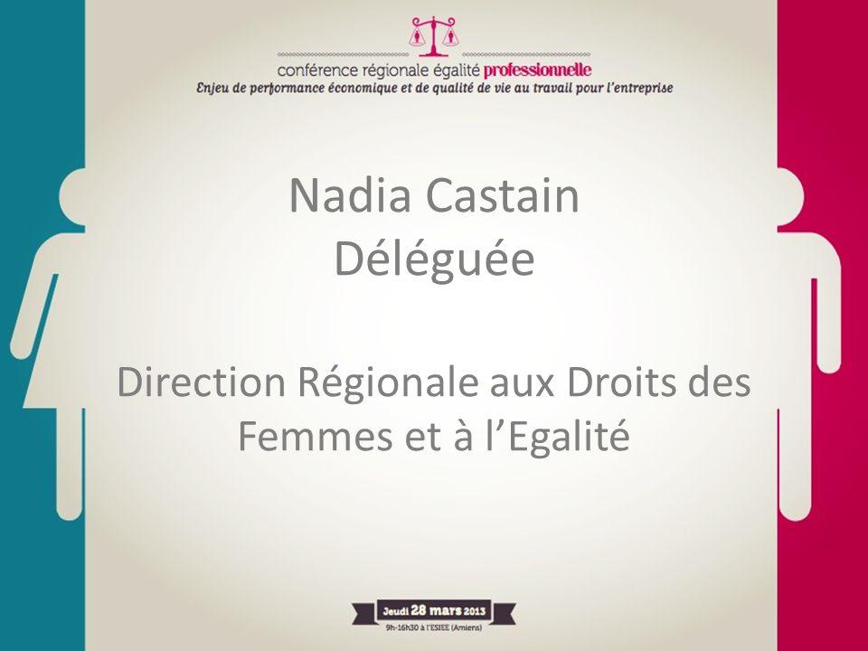 Nadia Castain Déléguée Direction Régionale aux Droits des Femmes et à lEgalité