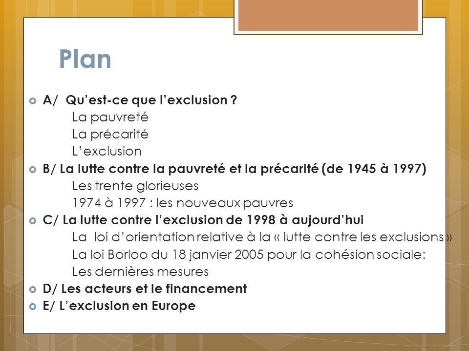 Les crédits du programme « Prévention de l exclusion et insertion des personnes vulnérables » Programme 177LFI 2011PLF2012% Prévention de lexclusion 64,357,1-11 %4% Hébergement et log.