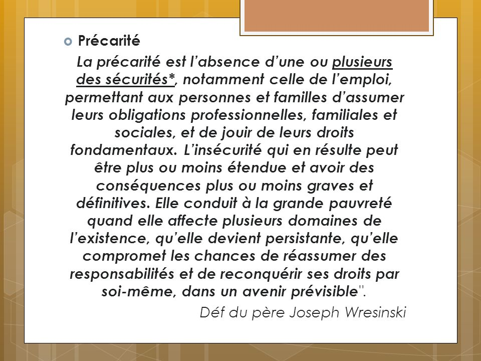 Lexclusion Sans domicile fixe Nouvelle pauvreté La disqualification sociale (S. Paugam)