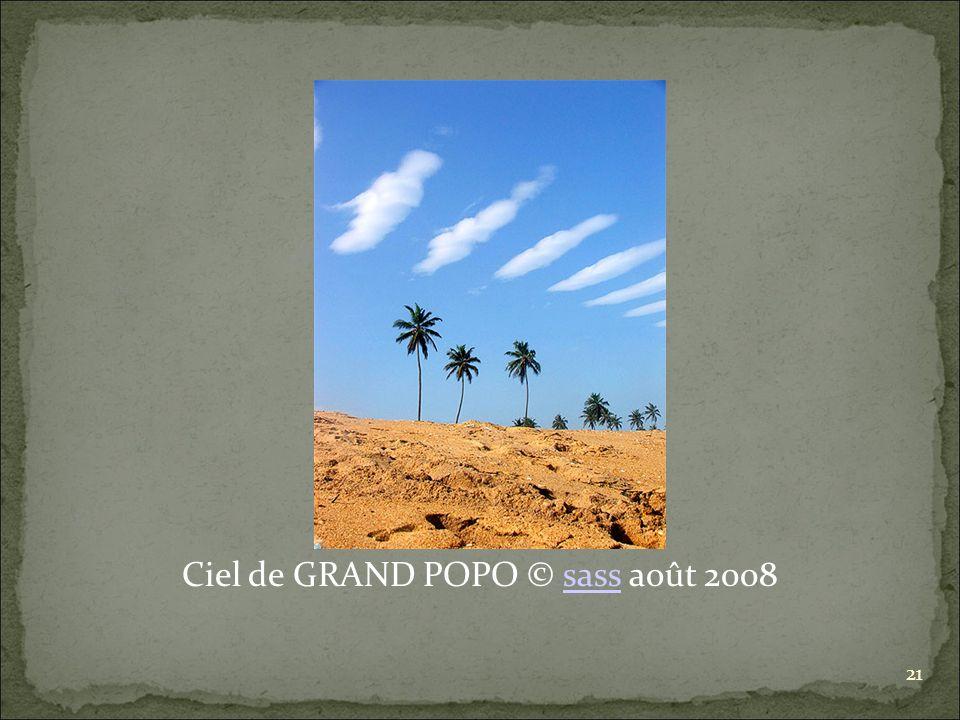 Ciel de GRAND POPO © sass août 2008sass 21
