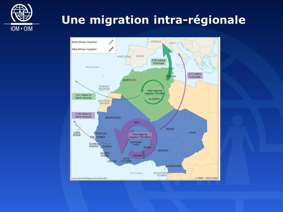 Une migration intra-régionale