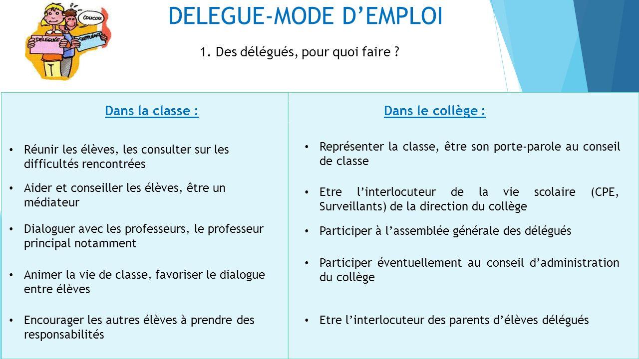 DELEGUE-MODE DEMPLOI 2.