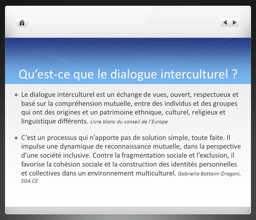 Quest-ce que le dialogue interculturel .