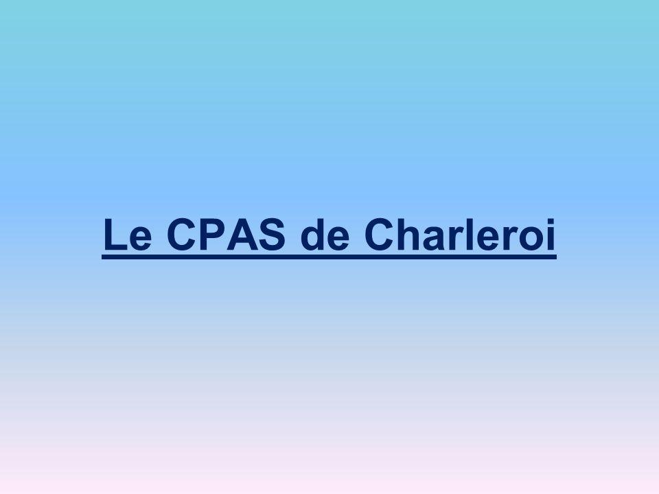 Le CPAS de Charleroi