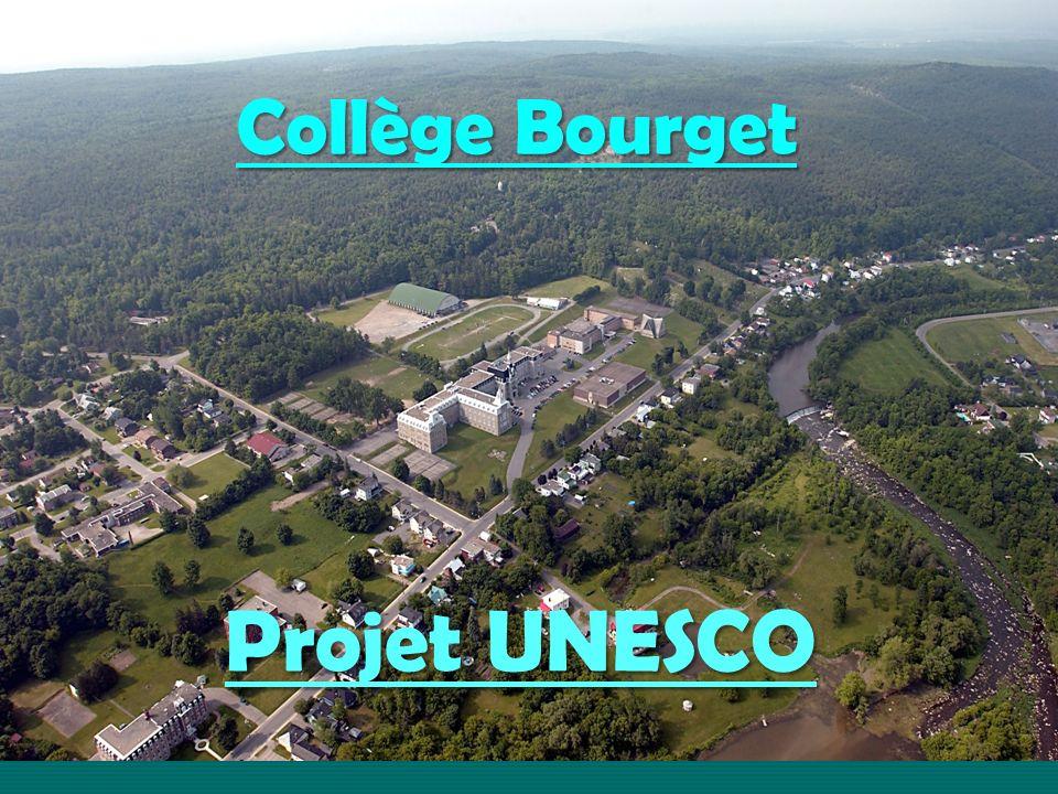 Projet UNESCO Collège Bourget