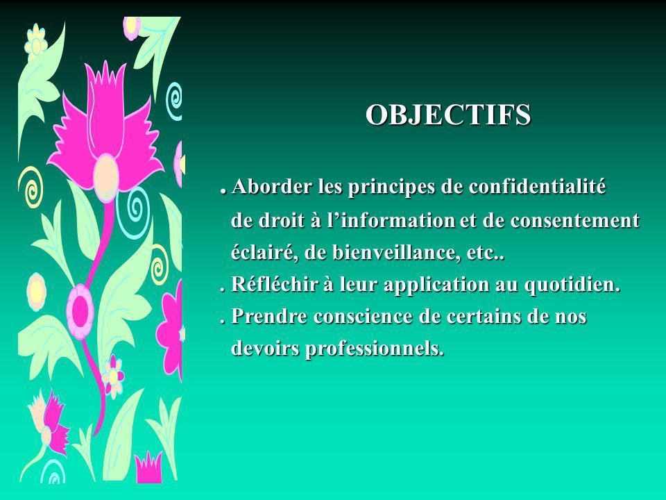 Margot Phaneuf Inf. PhD.43 Principe de loyauté et de fidélité