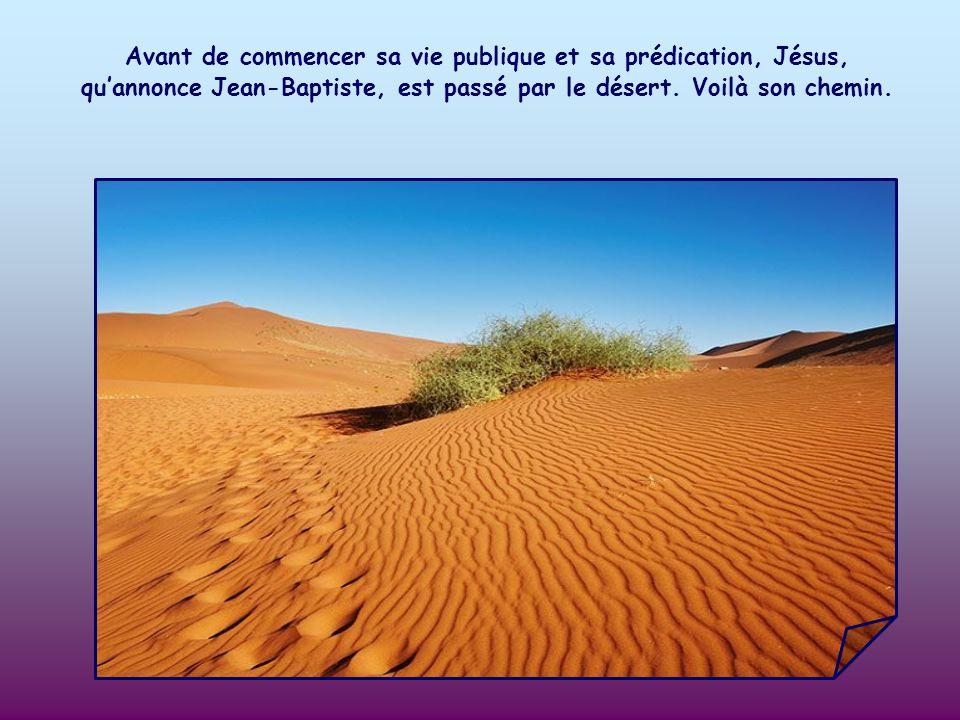 Jean Baptiste invite à préparer le chemin du Seigneur. Quel est ce chemin ?