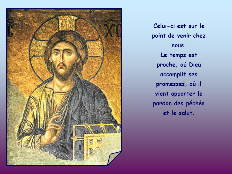 LÉglise, en ce temps qui précède Noël, nous présente justement le Précurseur pour nous inviter à la joie, parce que Jean Baptiste est comme un message