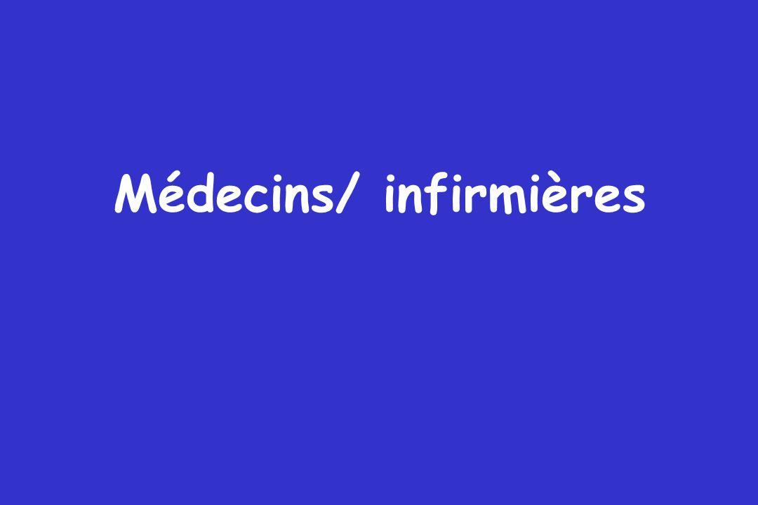 Médecins/ infirmières