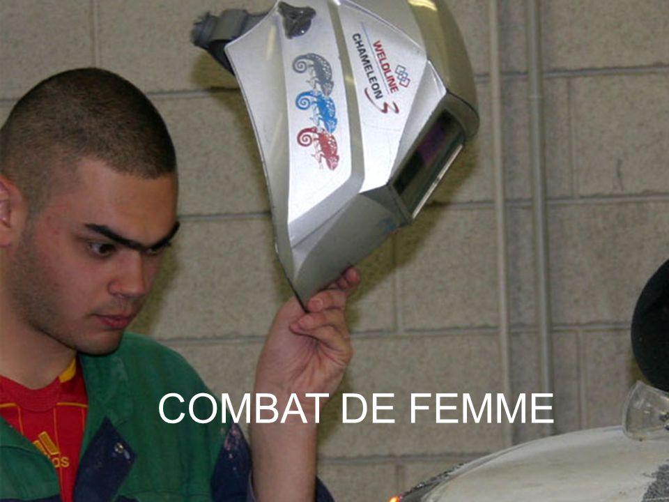 COMBAT DE FEMME