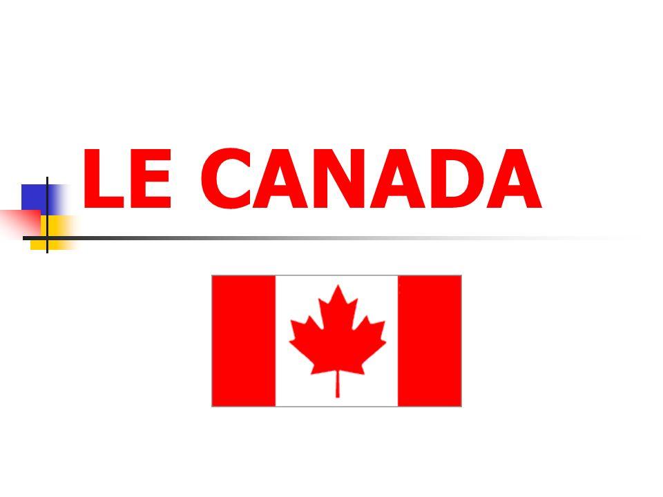 Au nord, le Canada a pour seule frontière l océan Arctique.