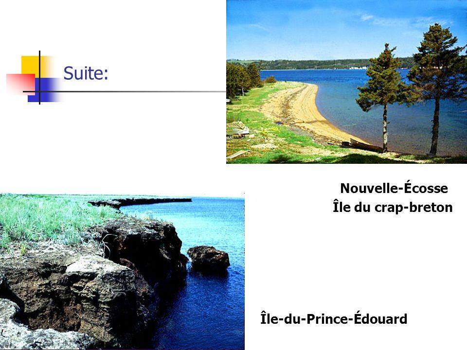 Suite: Nouvelle-Écosse Île du crap-breton Île-du-Prince-Édouard