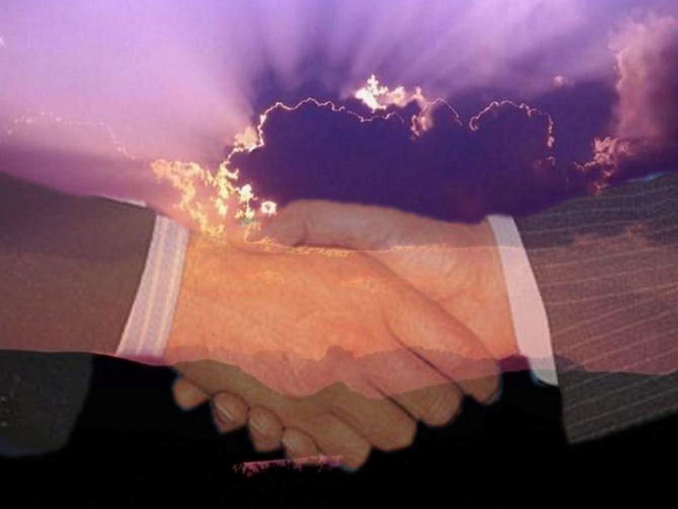 Il faut que la PAIX éclate comme deux mains qui se joignent après avoir fait taire les hostilités, et comme est victorieux le Prince de la Paix, après
