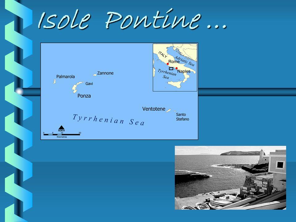 Isole Pontine...